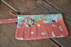 Forest Friends  wristlet  Marion Meyers $30