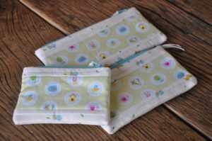 Wee Birdies  set of 3 zippies  Marion Meyers $35