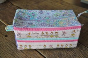 Ballerinas toiletries bag Marion Meyers $40