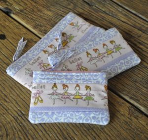 Ballerinas set of 3 zippys Marion Meyers $35