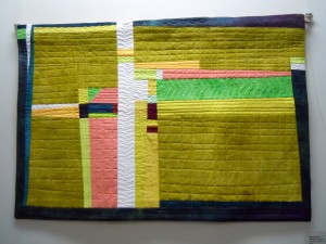 Quilt by Marion Meyers at the Scugog Council for the Arts Gallery